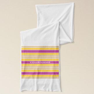 Stripes Pattern custom scarfs Scarf