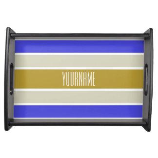 Stripes Pattern custom serving trays