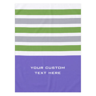 Stripes Pattern custom table cloths