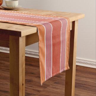 Stripes Pattern custom text table runner