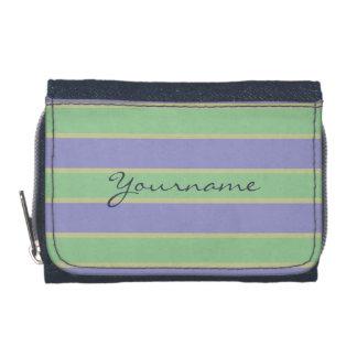 Stripes Pattern custom wallets