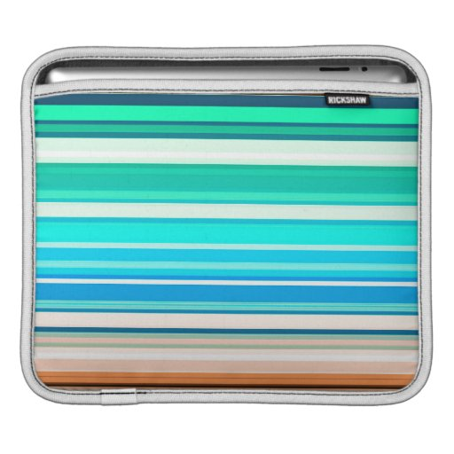 Stripes Pattern Ipad Sleeve