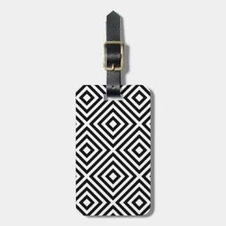 Stripes Pattern Luggage Tag