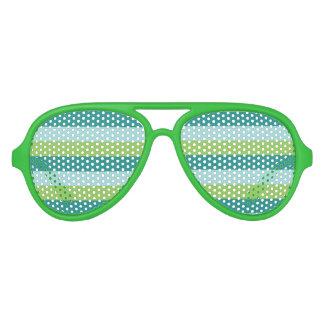 Stripes Pattern party glasses