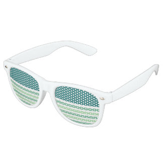 Stripes Pattern party shades