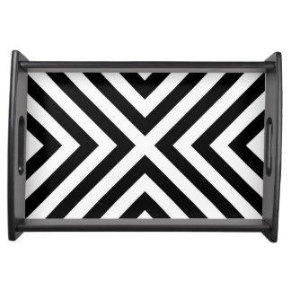 Stripes Pattern Serving Tray