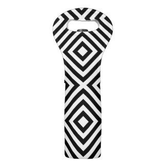 Stripes Pattern Wine Bag