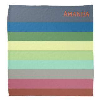 Stripes - Personalized Bandana