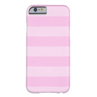 Stripes - Pink and Light Pink Barely There iPhone 6 Case