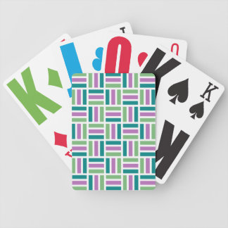 Stripes playing cards