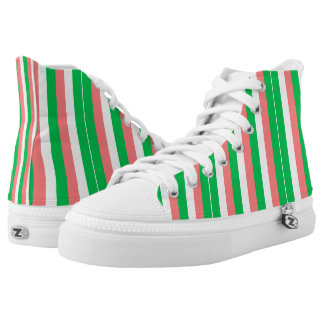 Stripes Printed Shoes