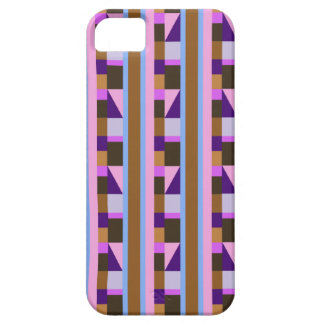 Stripes, rectangles, tiles & triangles iPhone 5 covers
