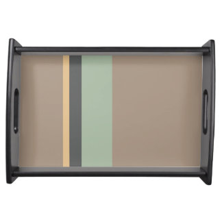 STRIPES SERVING TRAY