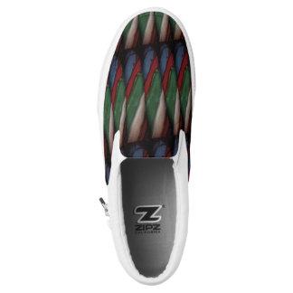 Stripes Slip-On Shoes