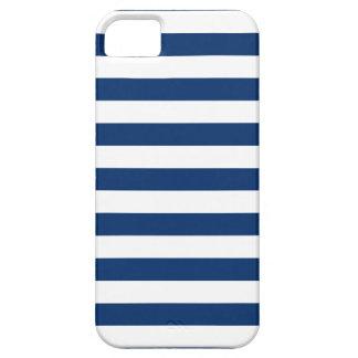 Stripes Sodalite Blue iPhone 5 Case