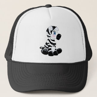 Stripes the Baby Zebra Trucker Hat