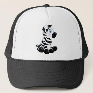 Stripes the Baby Zebra Trucker Hat