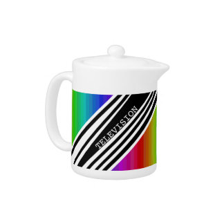 Stripes Vertical Hold Rainbow TV Color Bars