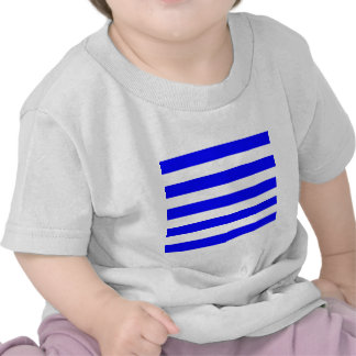 Stripes - White and Blue Tee Shirts