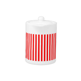 Stripes - White and Red