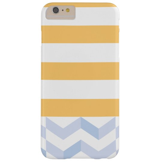 STRIPESYELLOW BARELY THERE iPhone 6 PLUS CASE