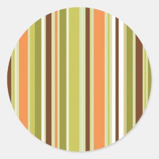 Stripey Custom Stickers