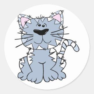 Stripey Kitty Sticker