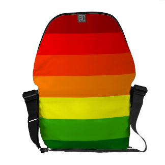 STRIPITTY! STRIPETTY!  IT'S RAINBOW STRIPES! ~ COMMUTER BAGS