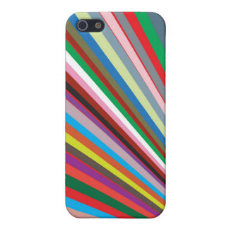 Strips in colors cases case for iPhone 5