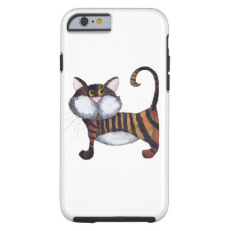 STRIPY CAT TOUGH iPhone 6 CASE