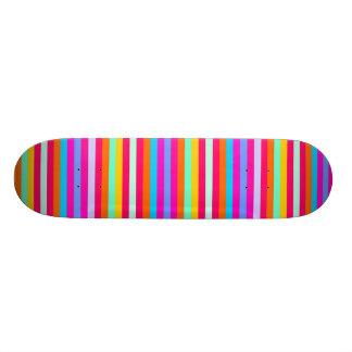 Stripy Color Skate Boards