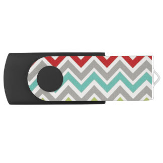 Stripy USB USB Flash Drive