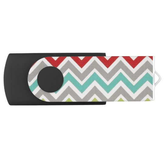 Stripy USB USB Flash Drive