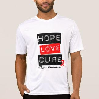 Stroke Awareness Hope Love Cure Shirt