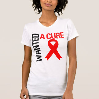 Stroke Awareness Wanted A Cure Tee Shirt