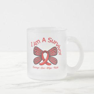 Stroke Butterfly I Am A Survivor Coffee Mug