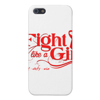 Stroke Disease Fight Like A Girl Elegant iPhone 5 Cover