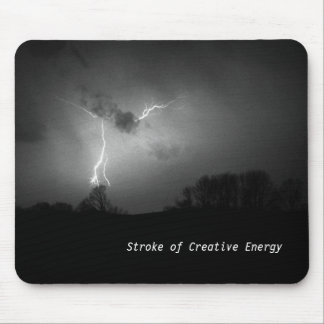 Stroke of Creative Energy Mouse Pad