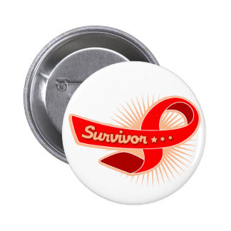 Stroke Survivor Ribbon Button