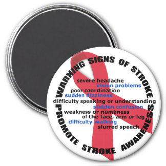 Stroke Warning Signs & Symptoms Magnet