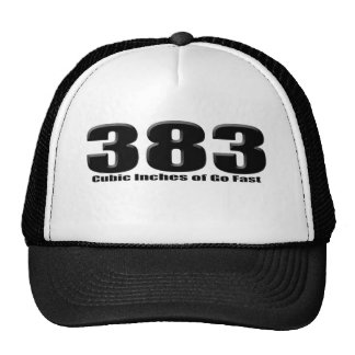 stroked 383 trucker hat