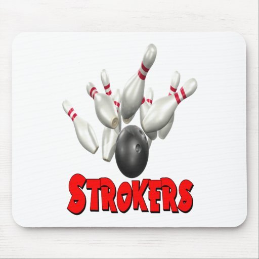 Strokers Bowling Mousepad