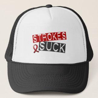 Strokes Suck Trucker Hat