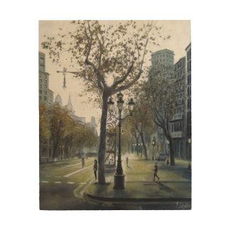 Stroll of Grace Wood Prints