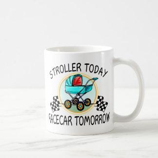 Stroller Today, Racecar Tomorrow Mugs