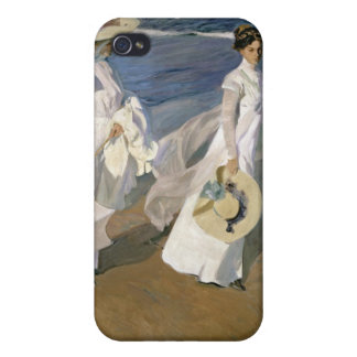 Strolling along the Seashore, 1909 iPhone 4/4S Cases