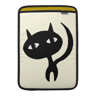 Strolling Cat MacBook Sleeve