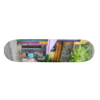 Strolling Down Thames Street Newport RI Skateboards