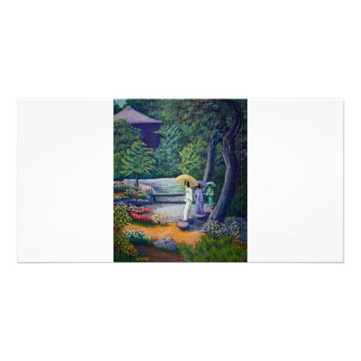 Strolling Paradise Picture Card