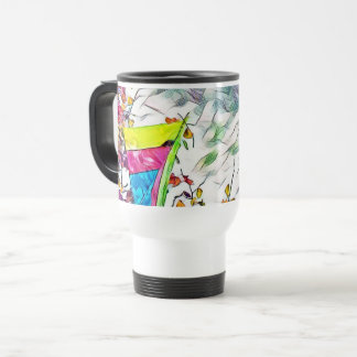 Stromy Hang Gliding Travel Mug